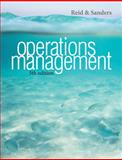 Operations Management, Reid, R. Dan and Sanders, Nada R., 1118122674