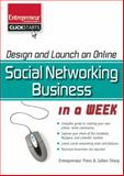Design and Launch an Online Social Networking Business in a Week, Sharp, Julien, 1599182688