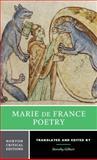Marie de France's Poetry, de France, Marie, 0393932680
