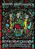 Eleven Great Cantatas, Johann Sebastian Bach, 0486232689