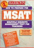 How to Prepare for the MSAT 9780764102684