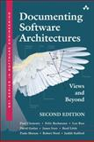 Documenting Software Architectures : Views and Beyond, Clements, Paul and Merson, Paulo, 0321552687