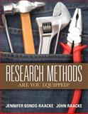 Research Methods : Are You Equipped?, Bonds-Raacke, Jennifer and Raacke, John, 0135022681