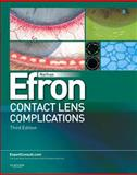 Contact Lens Complications, Efron, Nathan, 0702042692