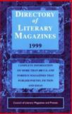 Directory of Literary Magazines, 1999, Council of Literary Magazines Staff, 1559212691