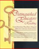 Distinguished Educators on Reading : Contributions That Have Shaped Effective Literacy Instruction, , 087207269X