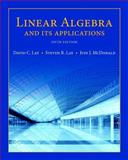Linear Algebra and Its Applications Plus New MyMathLab with Pearson EText -- Access Card Package, Lay, David C. and Lay, Steven R., 0134022696