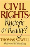 Civil Rights, Thomas Sowell, 0688062695