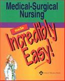 Medical Surgical Nursing, Springhouse Publishing Company Staff, 158255269X