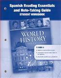 World History: Modern Times : Spanish Reading Essentials and Note-Taking Guide, , 0078782708