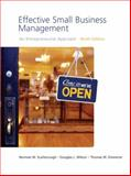 Effective Small Business Management, Scarborough, Norman M. and Zimmerer, Thomas W., 0136152708