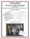 Family Maps of Lenawee County, Michigan, Deluxe Edition : With Homesteads, Roads, Waterways, Towns, Cemeteries, Railroads, and More, Boyd, Gregory A., 1420312707