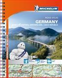 Michelin Germany/Austria/Benelux/Switzerland Atlas, Michelin, 2067192701