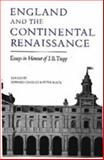 England and the Continental Renaissance : Essays in Honour of J. B. Trapp, , 0851152708
