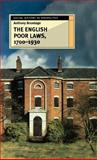 The English Poor Laws, 1700-1930, Brundage, Anthony, 033368270X