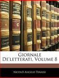 Giornale De'Letterati, Nicolò Angelo Tinassi, 1145192718