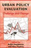 Urban Policy Evaluation 9781853962714