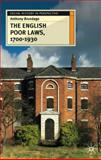 The English Poor Laws, 1700-1930, Brundage, Anthony, 0333682718