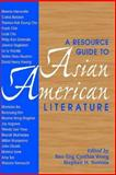 Resource Guide to Asian American Literature, , 0873522710