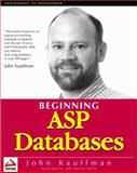 ASP Databases, Buser, David and Kauffman, John, 1861002726