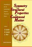 Symmetry and Structural Properties of Condensed Matter : Proceedings of the Seventh International School on Theoretical Physics, Myczkowce, Poland, 11-18 September 2002, T. Lulek, B. Lulek, A. Wal, 9812382720