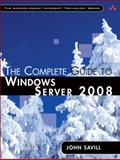 The Complete Guide to Windows Server 2008, Savill, John, 0321502728