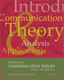 Introducing Communication Theory : Analysis and Application, with Free PowerWeb, West, Richard L. and Turner, Lynn H., 007294272X