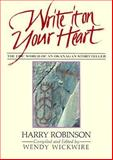 Write It on Your Heart, Harry Robinson, 0889222738
