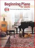 Beginning Piano for Adults, Alfred Publishing Staff, 0739092731