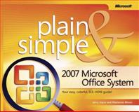 2007 Microsoft Office System Plain and Simple, Joyce, Jerry and Moon, Marianne, 0735622736