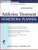 Addiction Treatment Homework Planner, Finley, James R. and Lenz, Brenda S., 0470402741