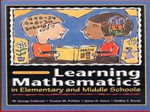 Learning Mathematics in Elementary and Middle School 9780130322746