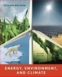 Energy, Environment, and Climate, Morling, Beth and Wolfson, Richard, 0393912744