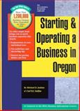Starting and Operating a Business in Oregon, Jenkins, Michael D. and Sniffen, Carl R., 1555712746