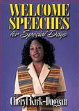 Welcome Speeches for Special Days, Cheryl Kirk-Duggan, 0687022746