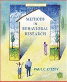 Methods in Behavioral Research with PowerWeb, Cozby, Paul C., 0072942754