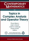 Topics in Complex Analysis and Operator Theory, , 0821852752