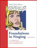 Foundations in Singing : A Guide to Vocal Technique and Song Interpretation, Paton, John Glenn and Christy, Van A., 007321275X