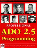 ADO 2.5 Programming, Sussman, David and Conard, James, 1861002750