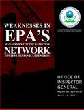 Weaknesses in EPA's Management of the Radiation Network System Demand Attention, U. S. Environmental Protection Agency, 1500562750