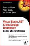 Visual Basic . NET Class Design Handbook 9781590592755