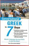 Conversational Greek in 7 Days, Hara Garoufalia-Middle, 0071432752