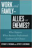 Work and Family--Allies or Enemies? 9780195112757