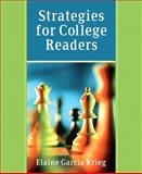 Strategies for College Readers, Krieg, Elaine G., 0321202759