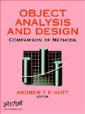 Object Analysis and Design : Comparison of Methods, Durham, 0471052760