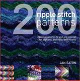 200 Ripple Stitch Patterns, Jan Eaton, 089689276X