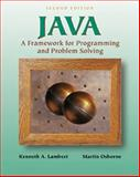 Java : A Framework for Programming and Problem Solving, Lambert, Kenneth Alfred and Osborne, Martin, 0534382770