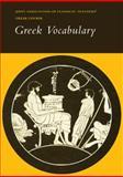 Greek Vocabulary, Joint Association of Classical Teachers Staff, 0521232775