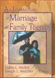 An Introduction to Marriage and Family Therapy 9780789002778