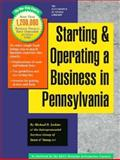 Starting and Operating a Business in Pennsylvania, Michael D. Jenkins and Ernst and Young Staff, 1555712770